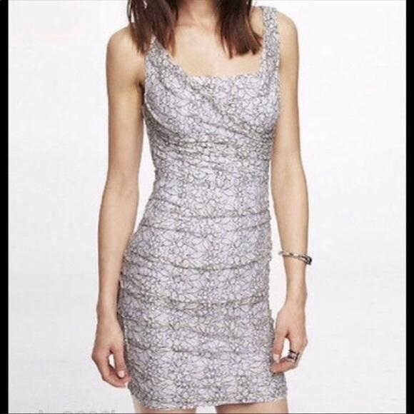 Express Dresses & Skirts - ⭐️Express Floral Lace Dress⭐️